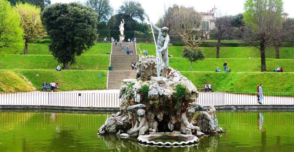 Giardino di Boboli Fonaine de Neptune