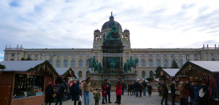 Noël à Vienne Maria Theresien Platz