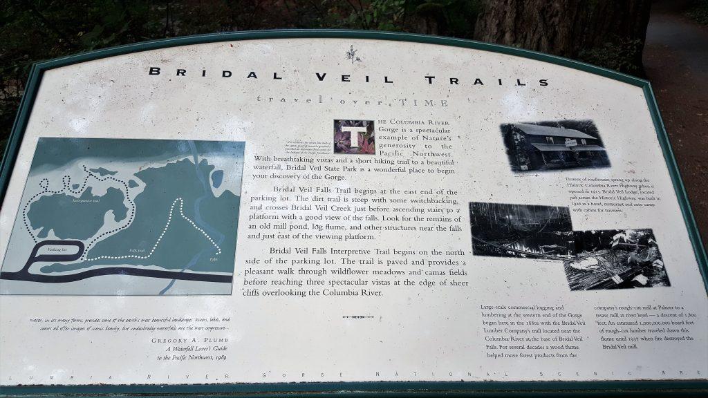 Bridal Veil Falls Oregon