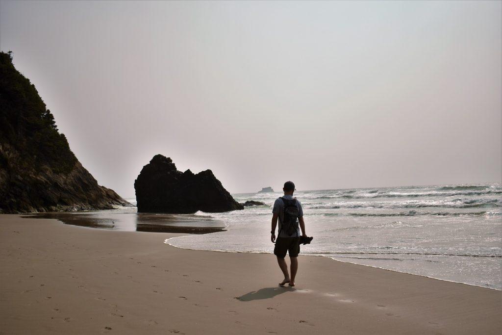 Oregon coast Hug Point