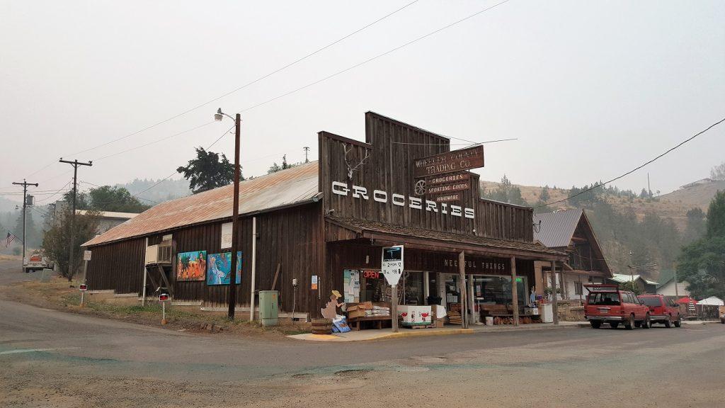 Mitchell Oregon