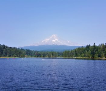 Trillium Lake Mt Hood National Forest