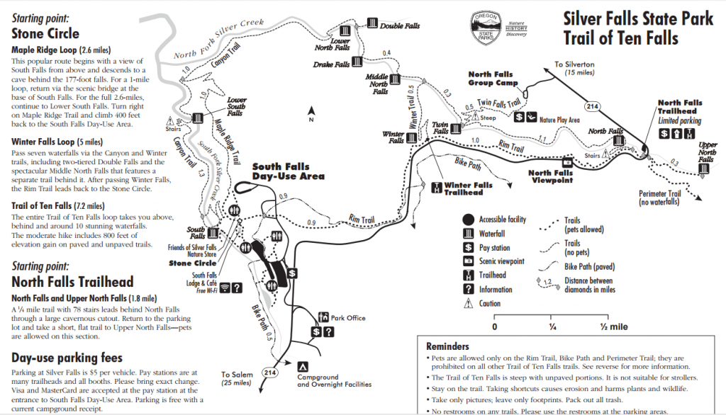 Silver-Falls-State-Park-map
