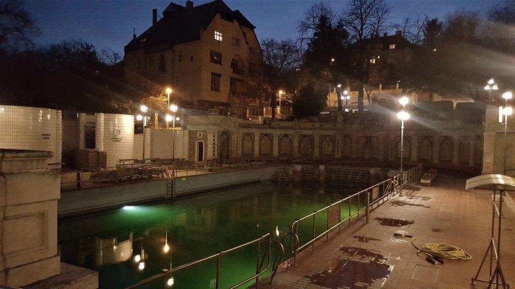 Bains Gellert Budapest