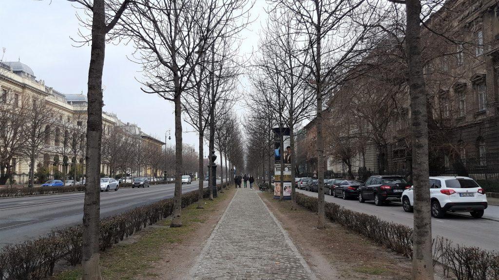 Avenue Andrassy Budapest