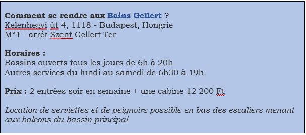 Info Bains Gellert
