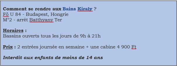 Infos Kiraly