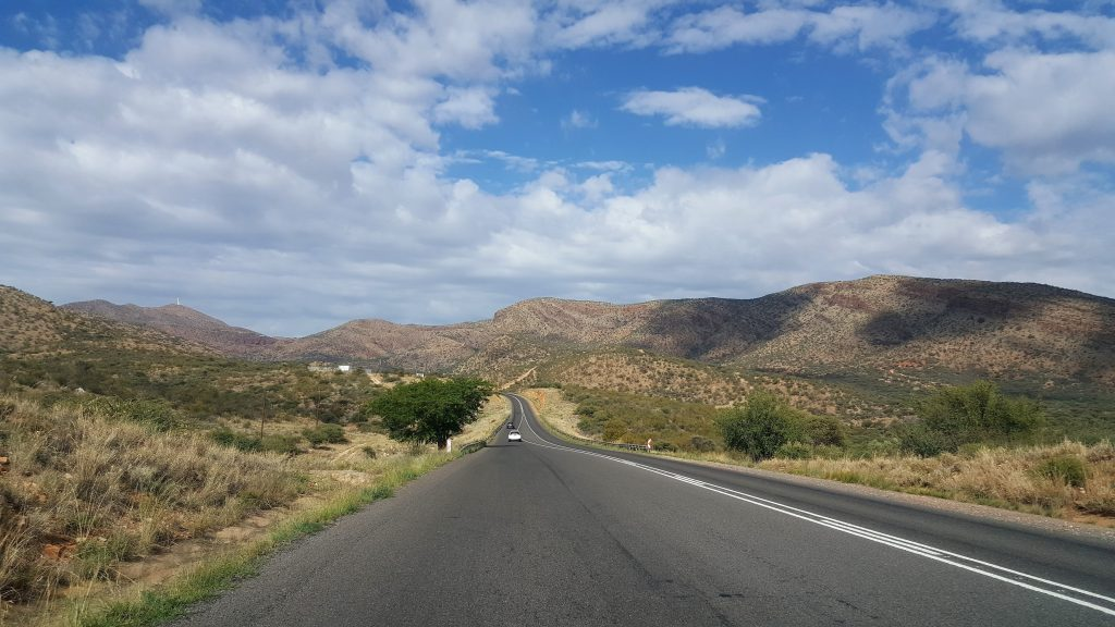 Route C20 Namibie