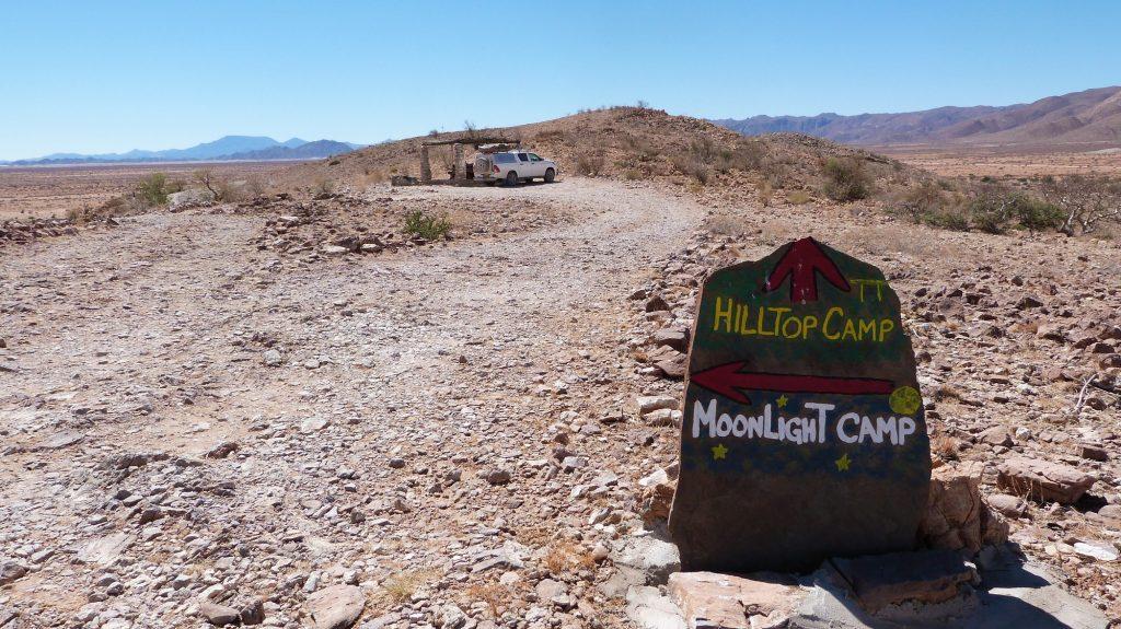 Hilltop Camp Gecko Namibia