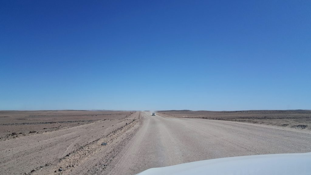 Route C14 Namibie