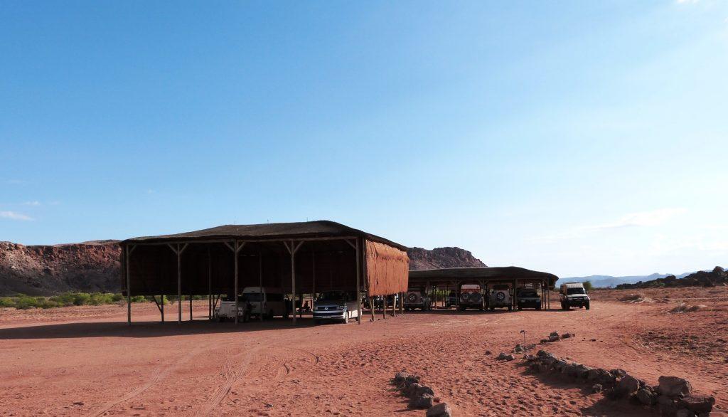 Twyfelfontein Parking