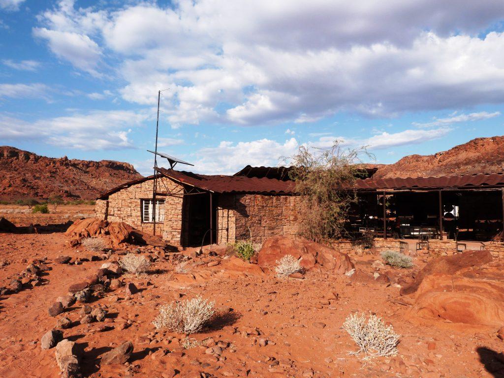 Twyfelfontein accueil