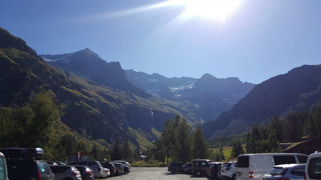 Parking refuge de Rosuel