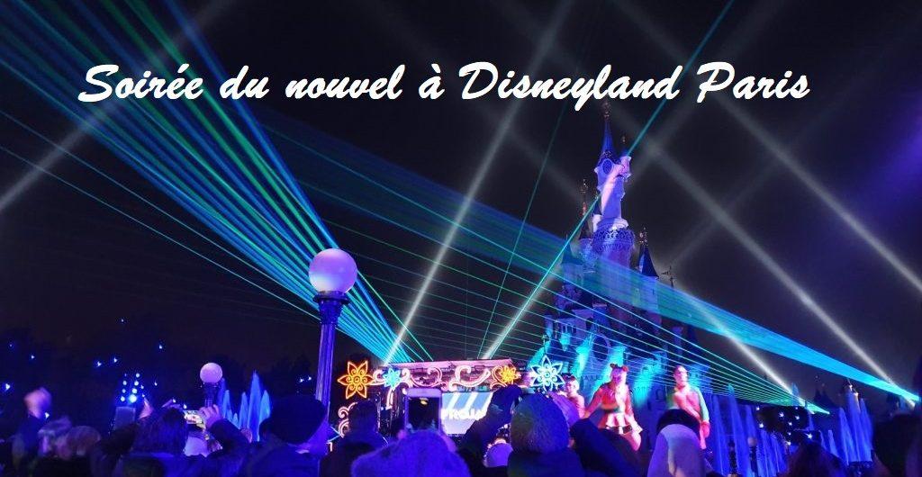 Soirée du nouvel an Disneyland Paris