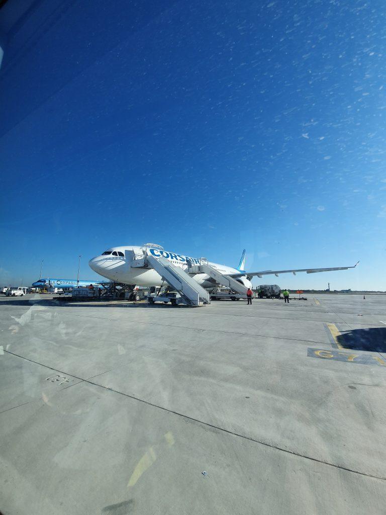 Vol Corsair Miami Aéroport d'Orly
