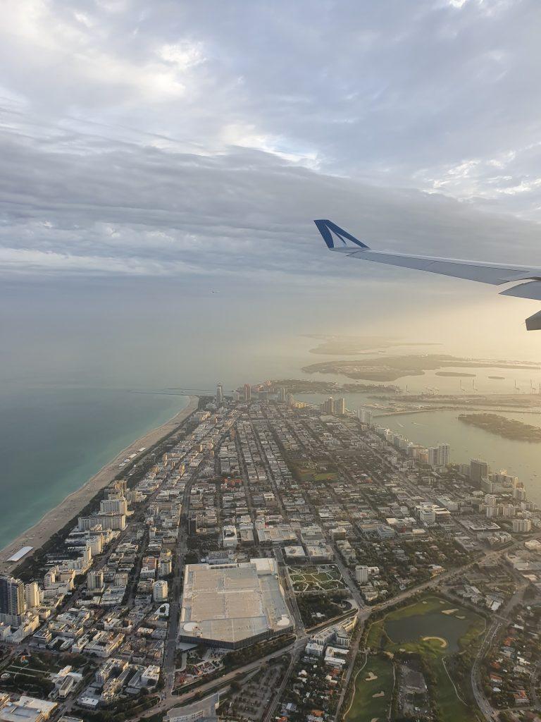 Arrivée Miami Floride