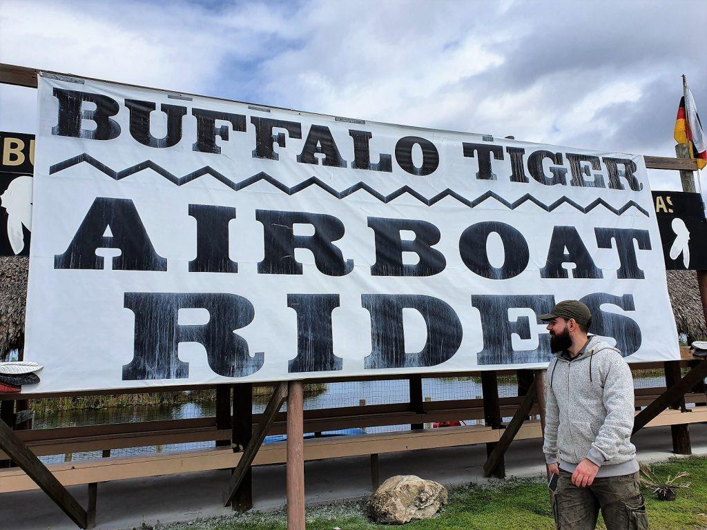Buffalo Tiger Airboat