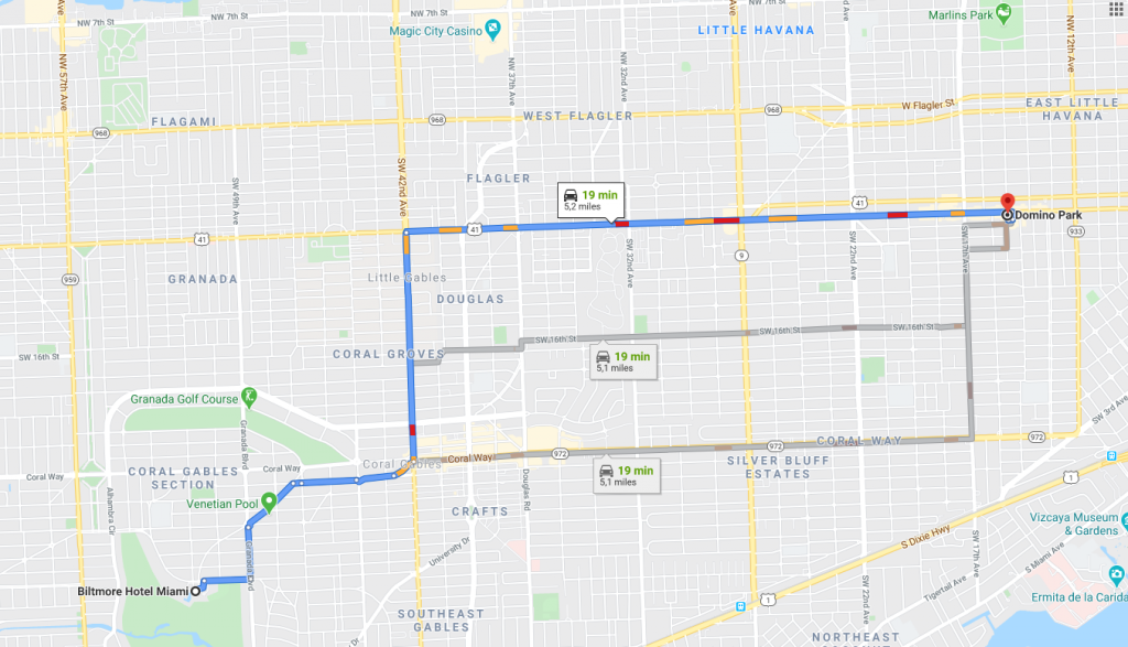 Itinéraire Calle Ocho