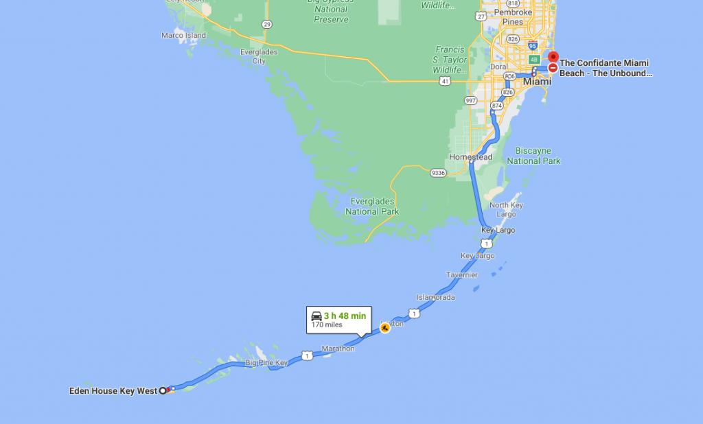 Itinéraire Key West Miami