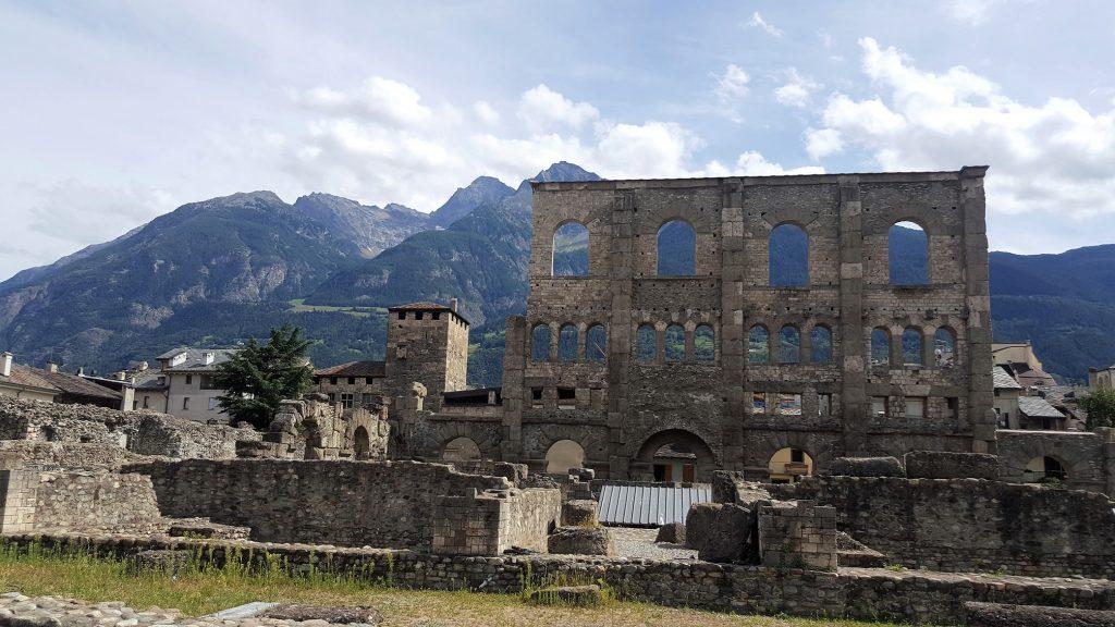 Aoste Italie